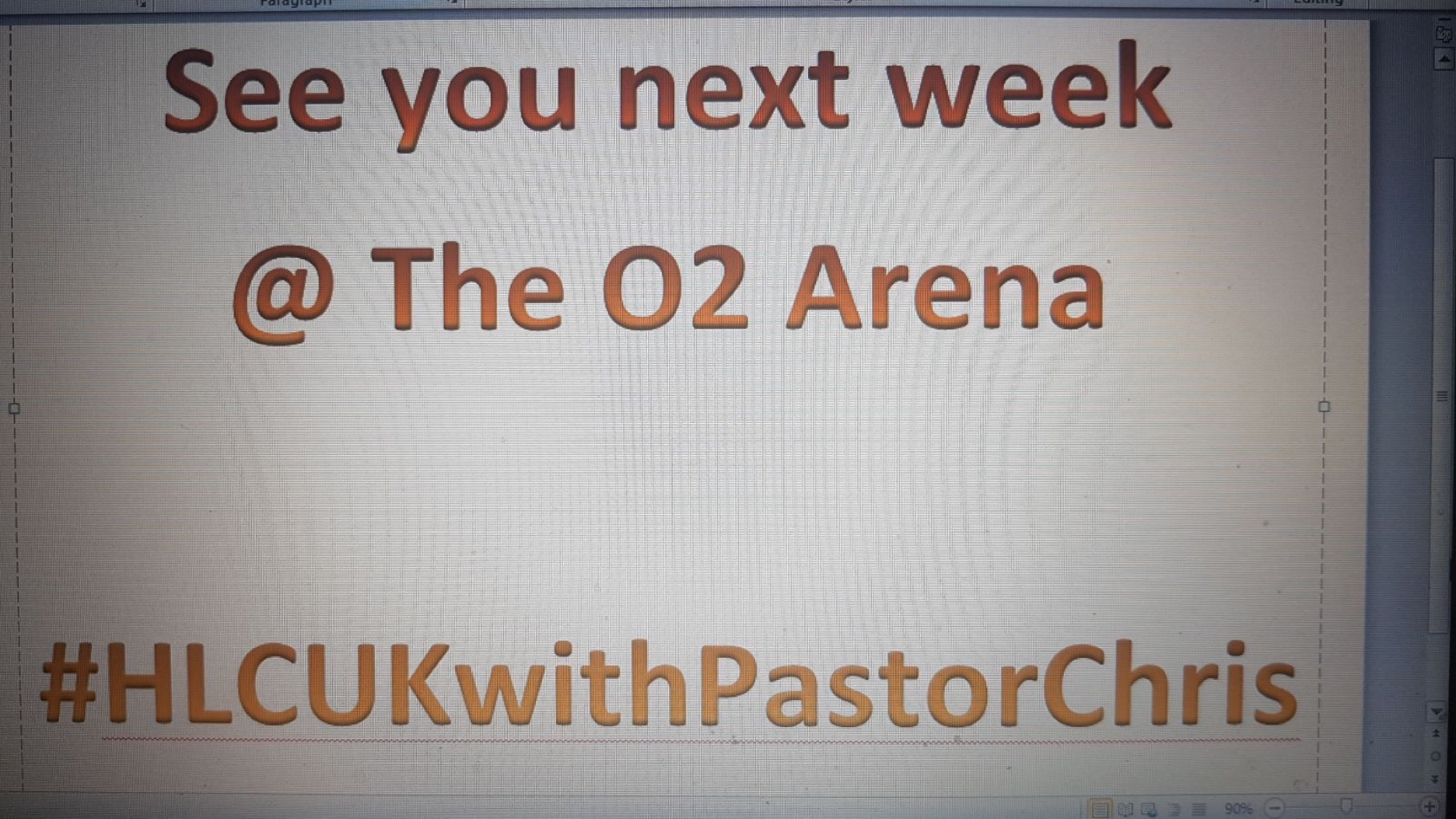#HLCUKwithPastorChris