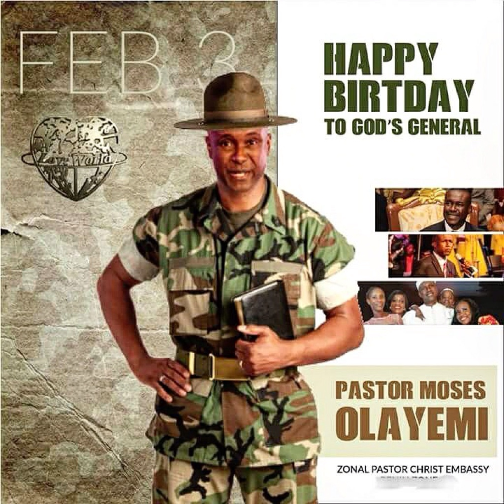It's the general's birthday 🙋🏽♂️