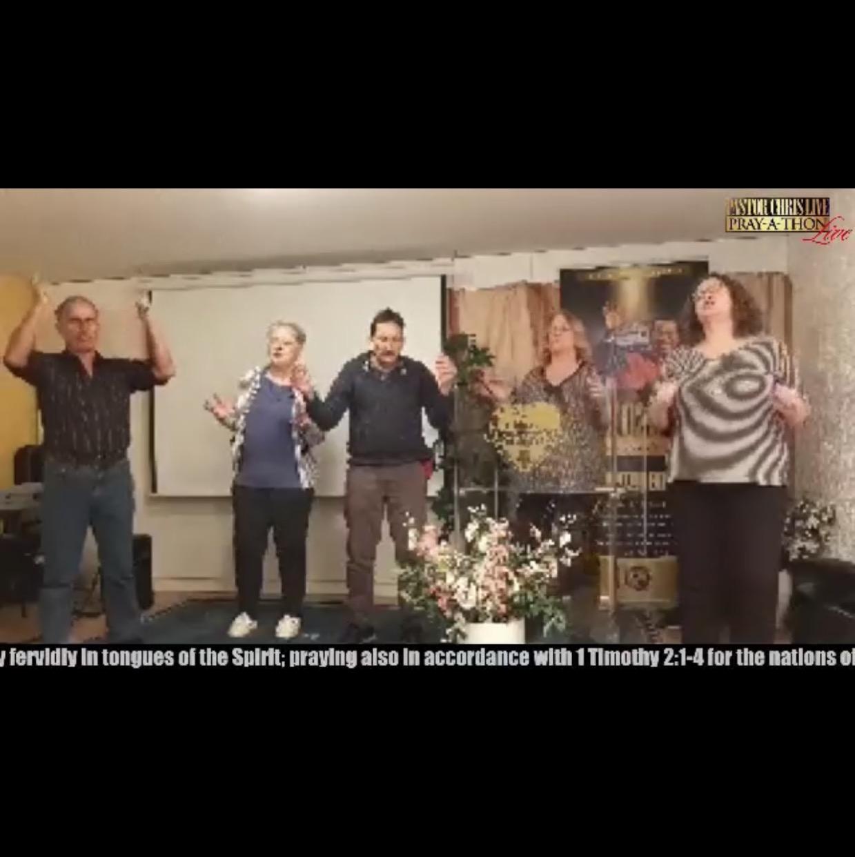WESTERN EUROPE ZONE 3 Prayer-A-Thon