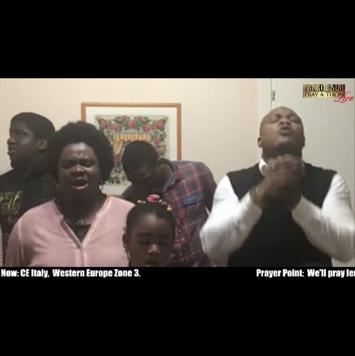 WESTERN EUROPE ZONE 3 Pray-a-thon