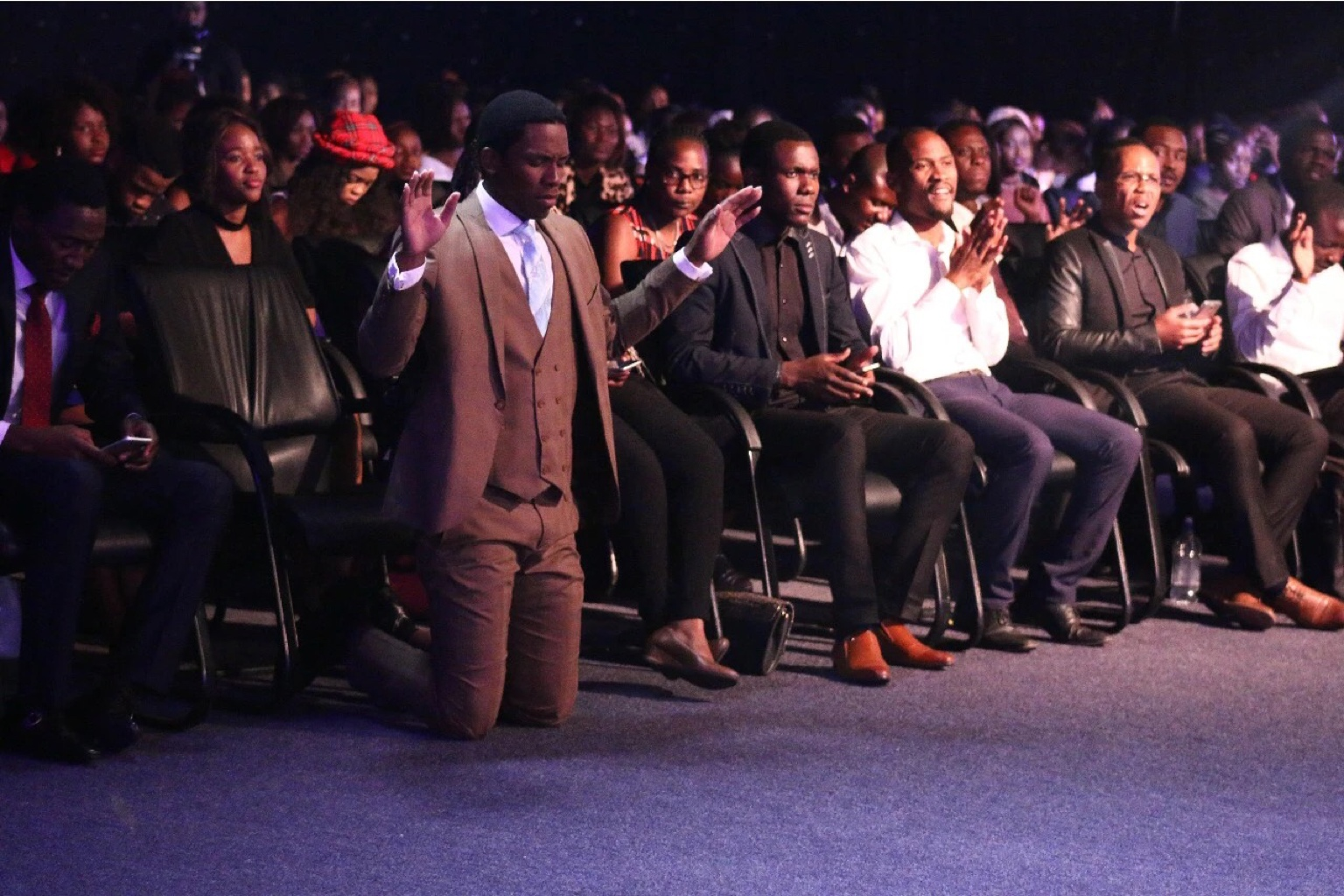 Men of the spirit! Pastor