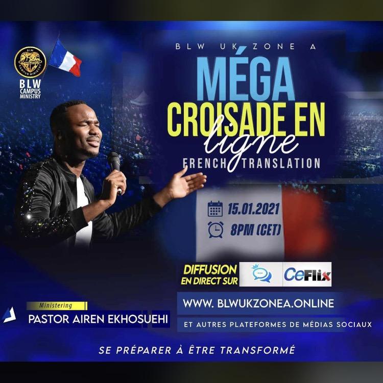 Jésus est Seigneur 🙌🏾🙌🏾🔥 #MegaOnlineCrusade