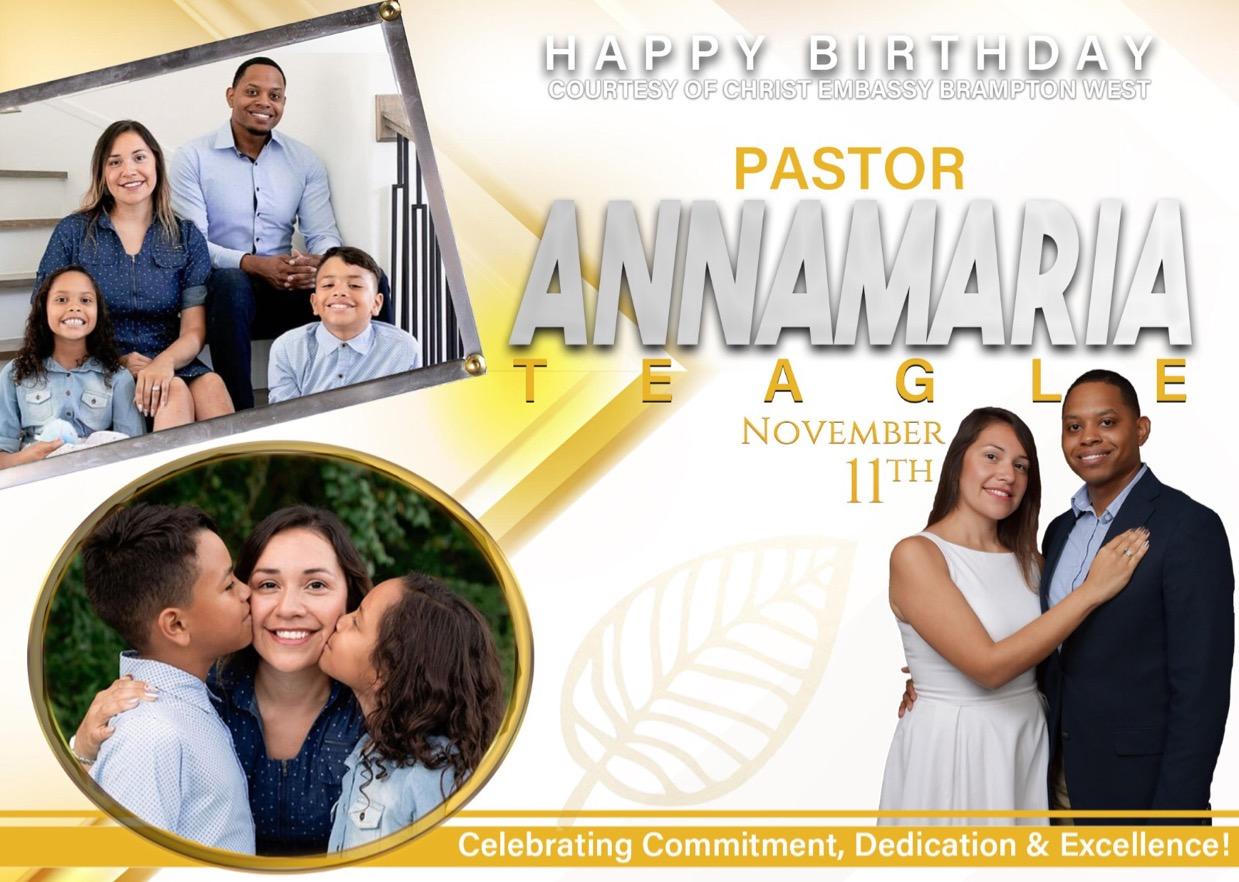 Happy birthday pastor Anna💃🏽💃🏽. You