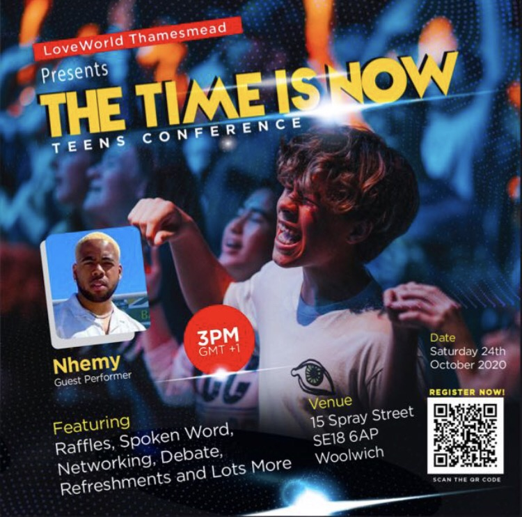 #THETIMEISNOW #TEENS CONFERENCE
