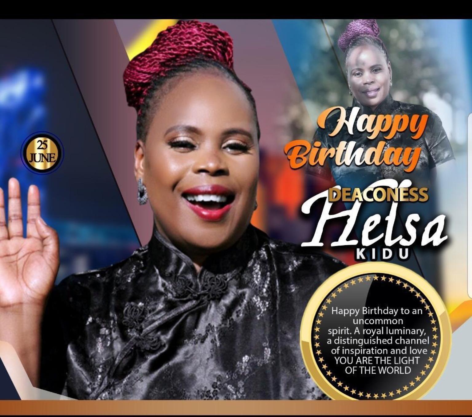 Happy a birthday Deaconess Helsa