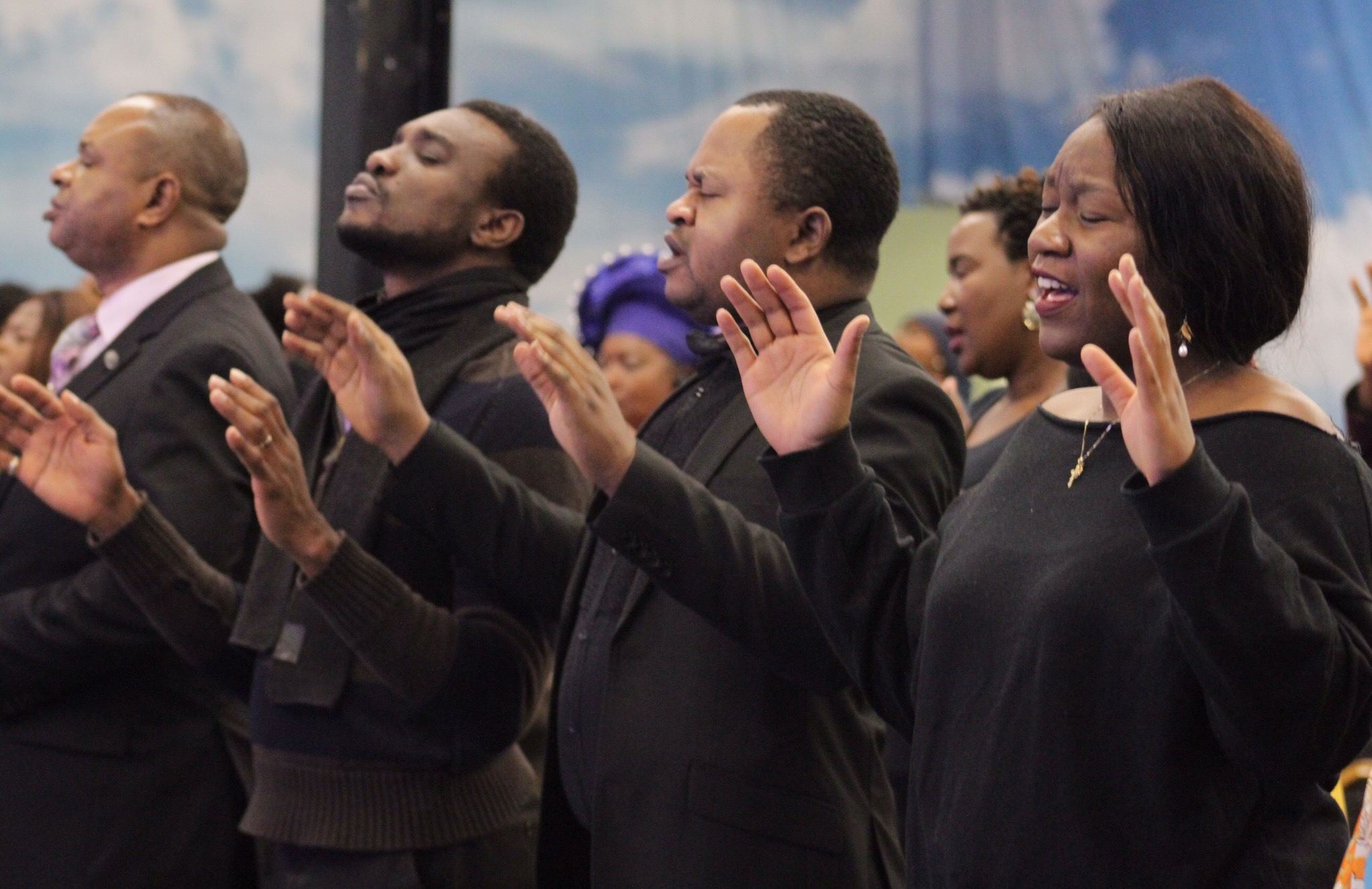 Awesome Sunday Service.The glory of