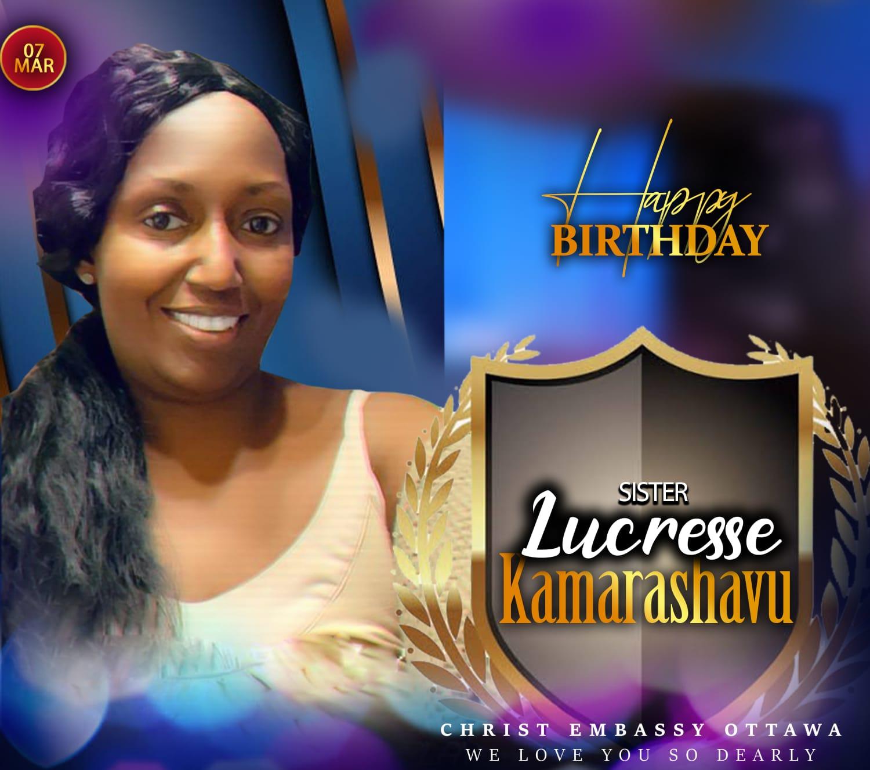 Celebrating Lucresse.... Happy Birthday #cecanada