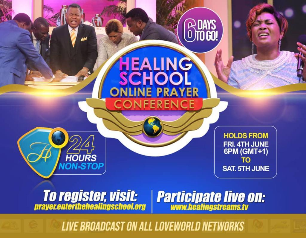 THE HEALING SCHOOL ONLINE PRAYER