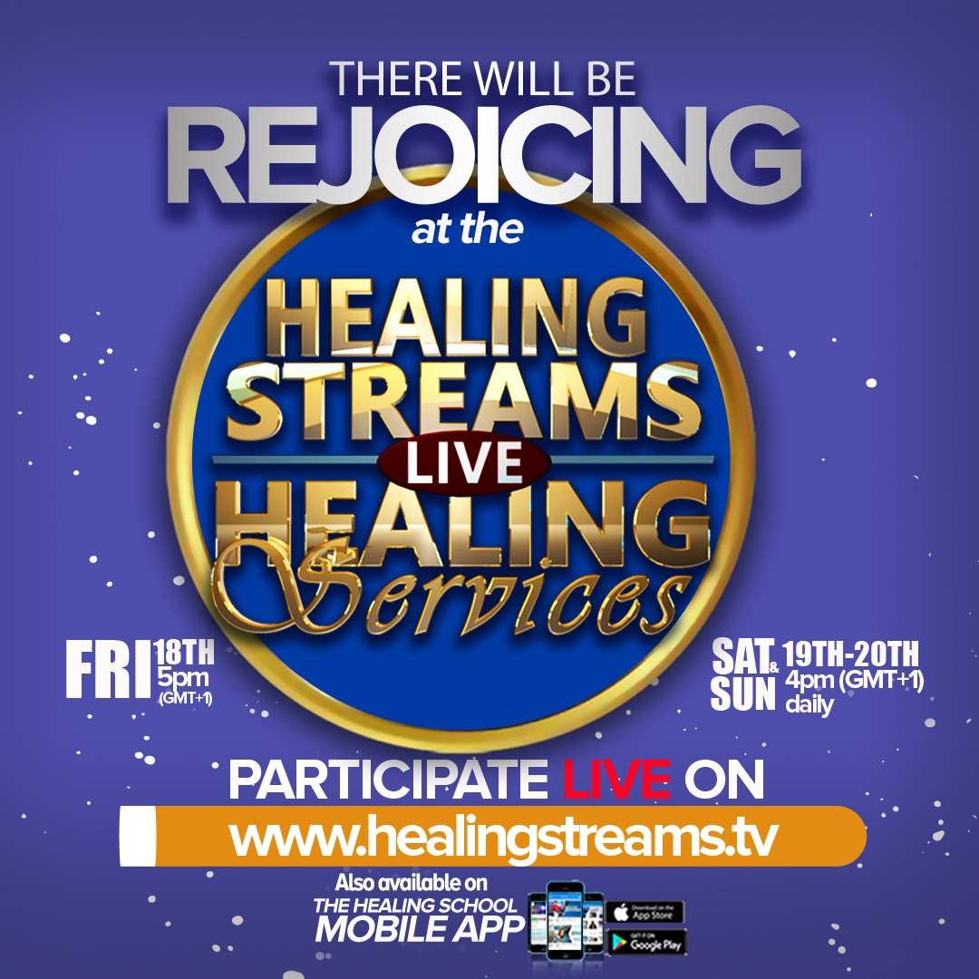Register TODAY! https://www.healingstreams.tv/reg/