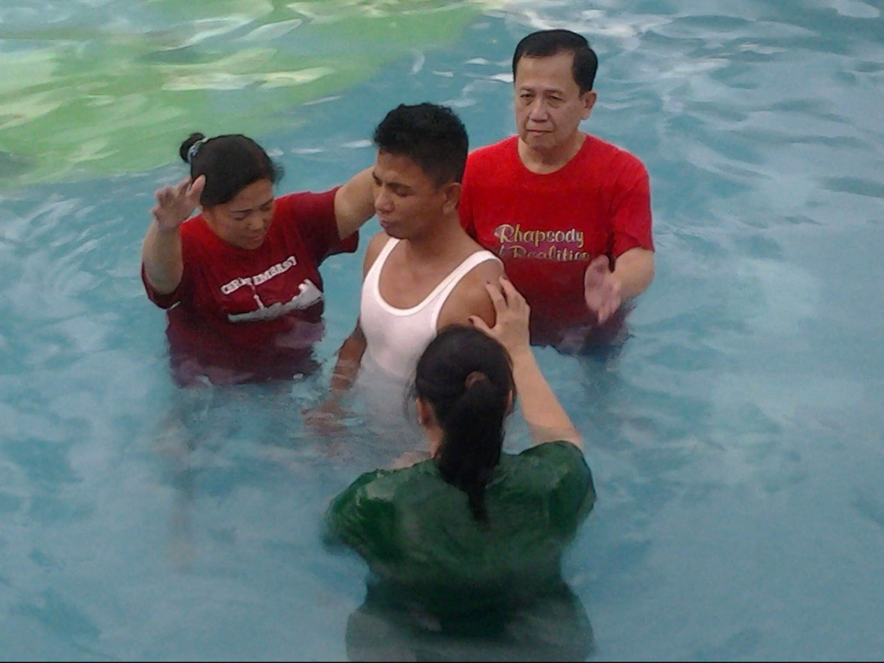 Mission Philippines Water baptism 2016