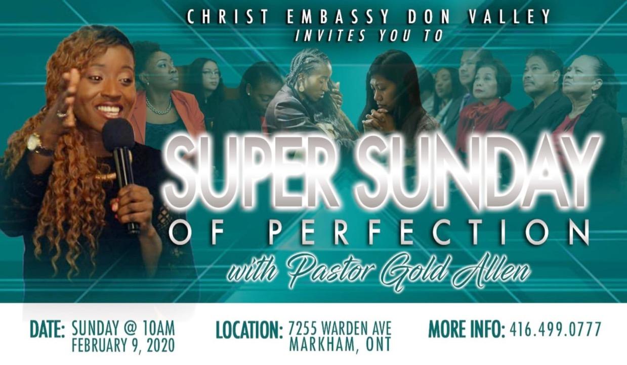 Hallelujah Super Sunday is here