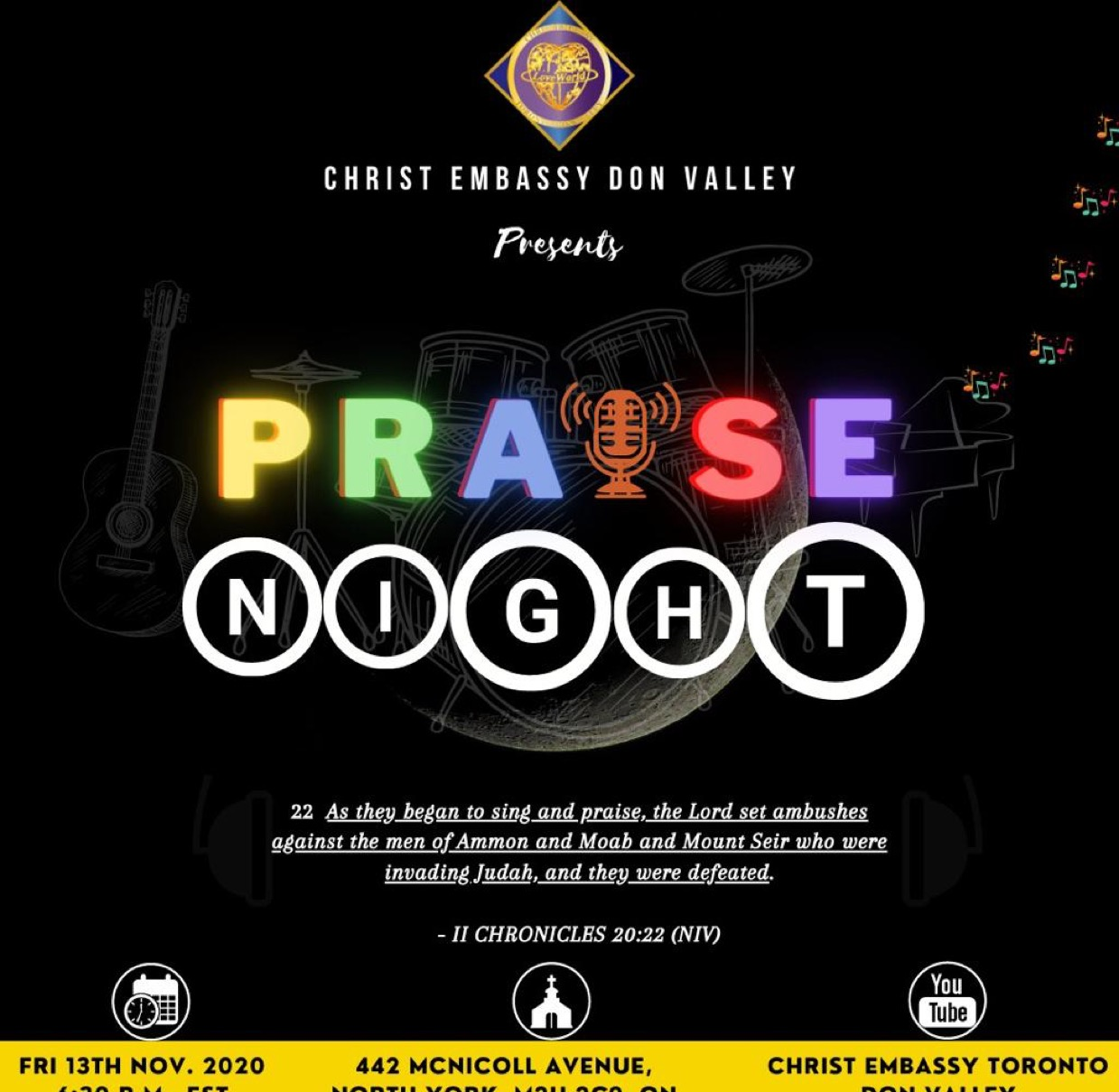 Experience the power of Praise,