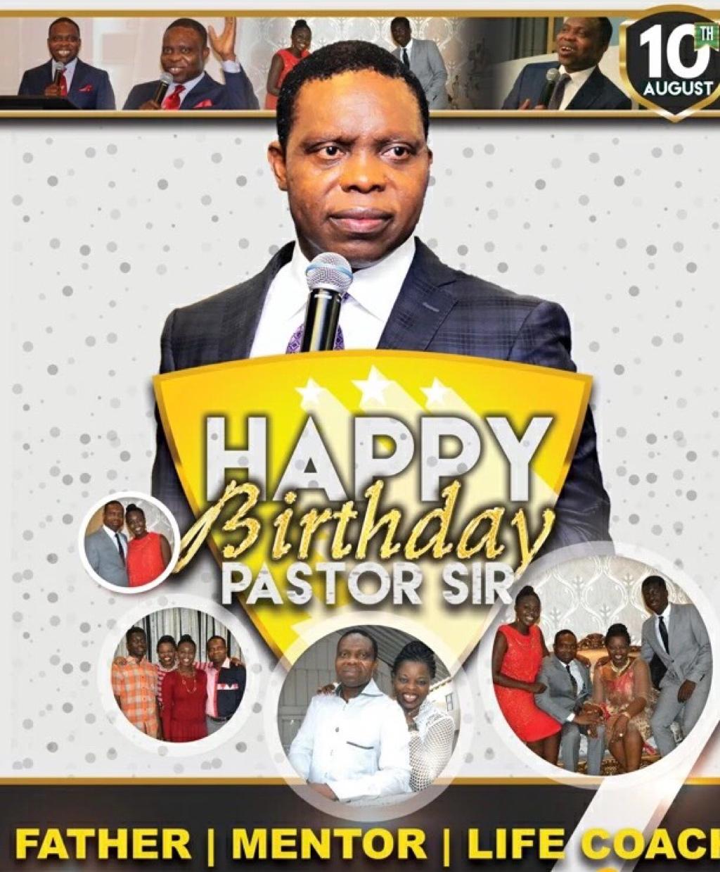 Happy Birthday Pastor Law, i