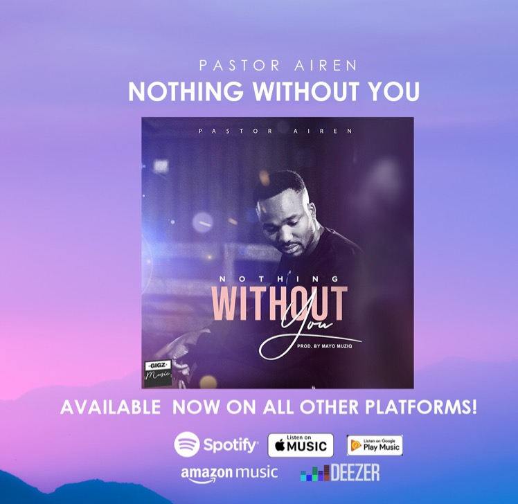 #NothingWithoutYou On ALL digital platforms