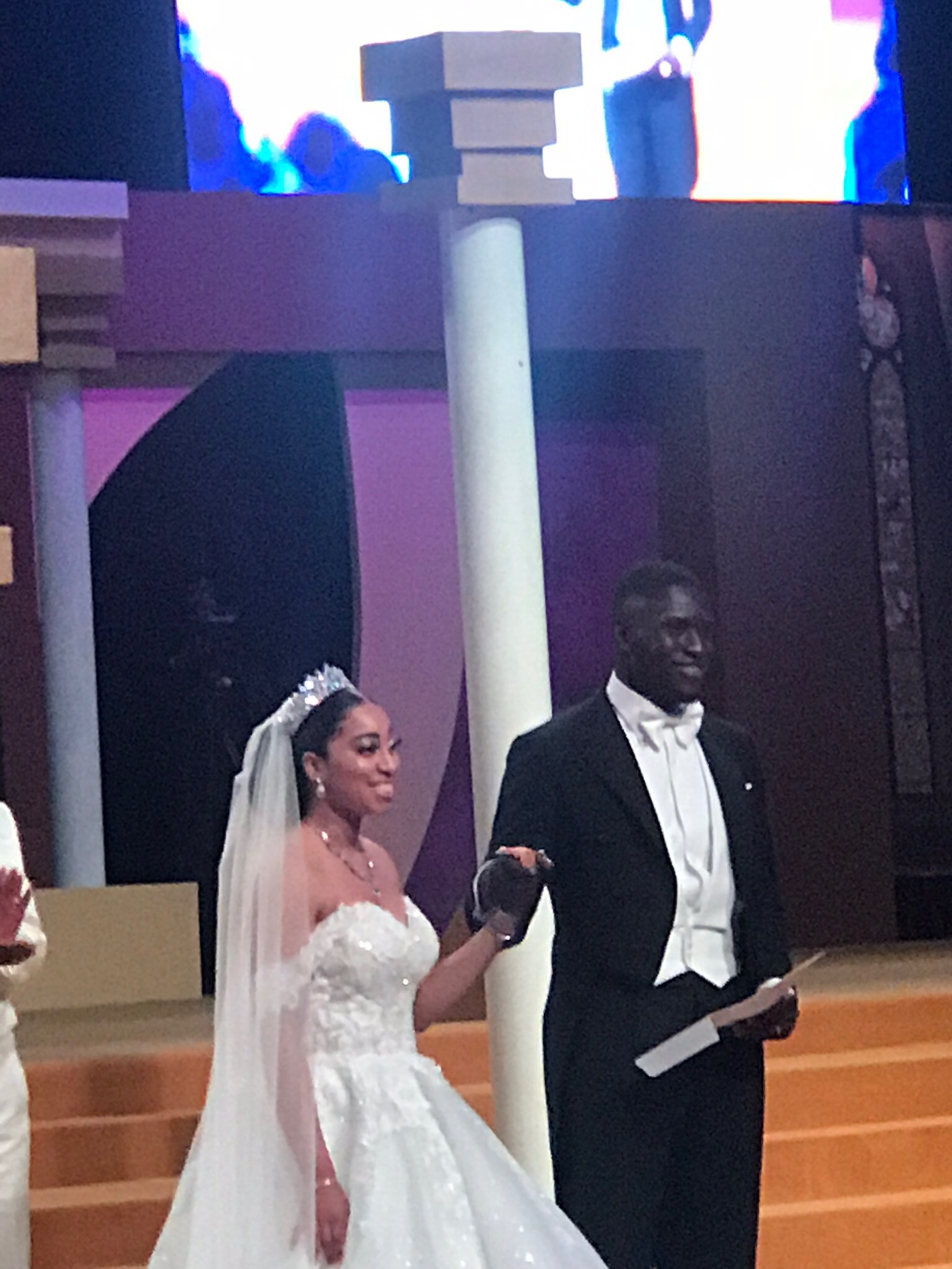 Congratulations to Sharon and Philip