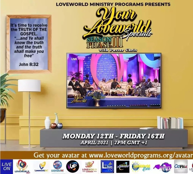 📺YOUR LOVEWORLD SPECIALS WITH PASTOR