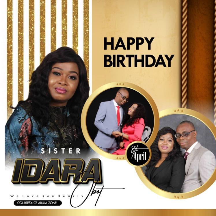 HAPPY BIRTHDAY ESTEEMED SISTER IDARA
