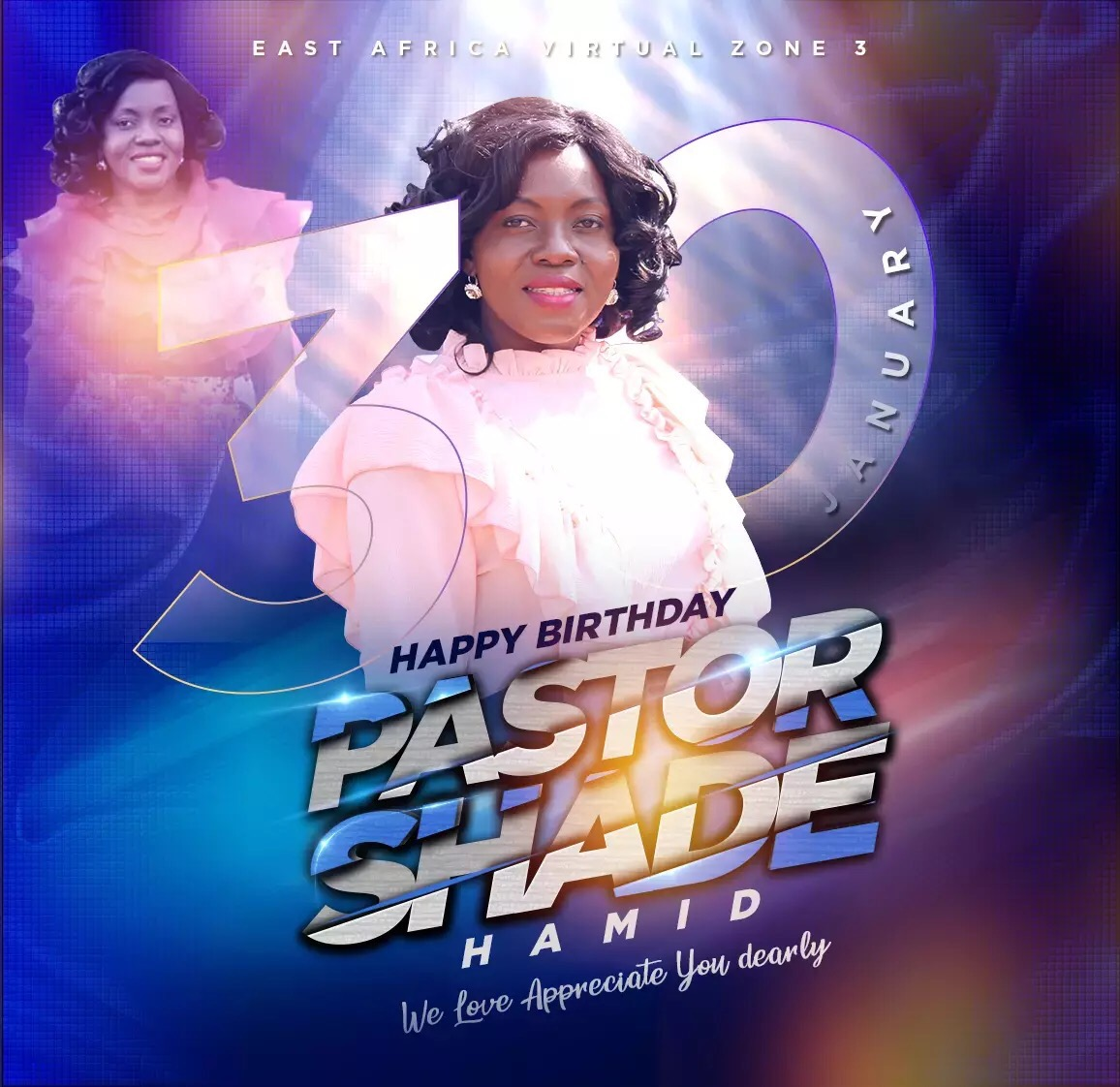 Happy Birthday Pastor Ma! I