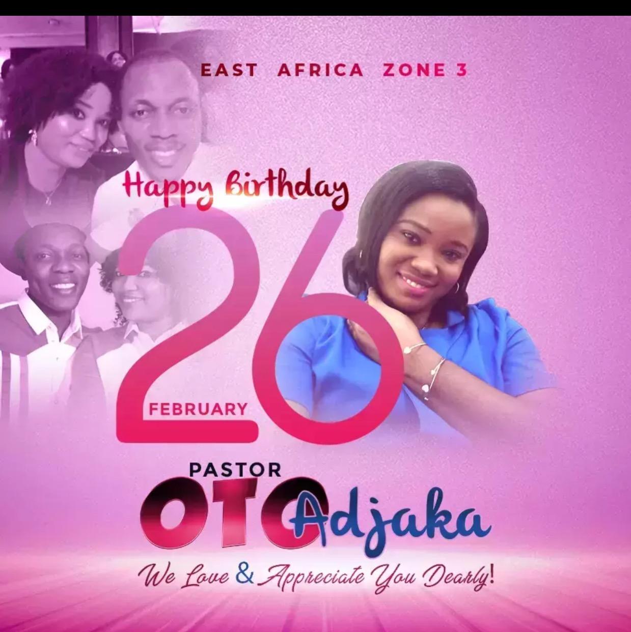 Happy Birthday Dear Pastor Oto-Oto