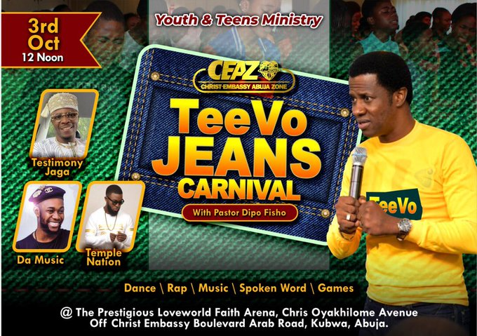 #teevojeanscarnival Issa supernatural something 🤸