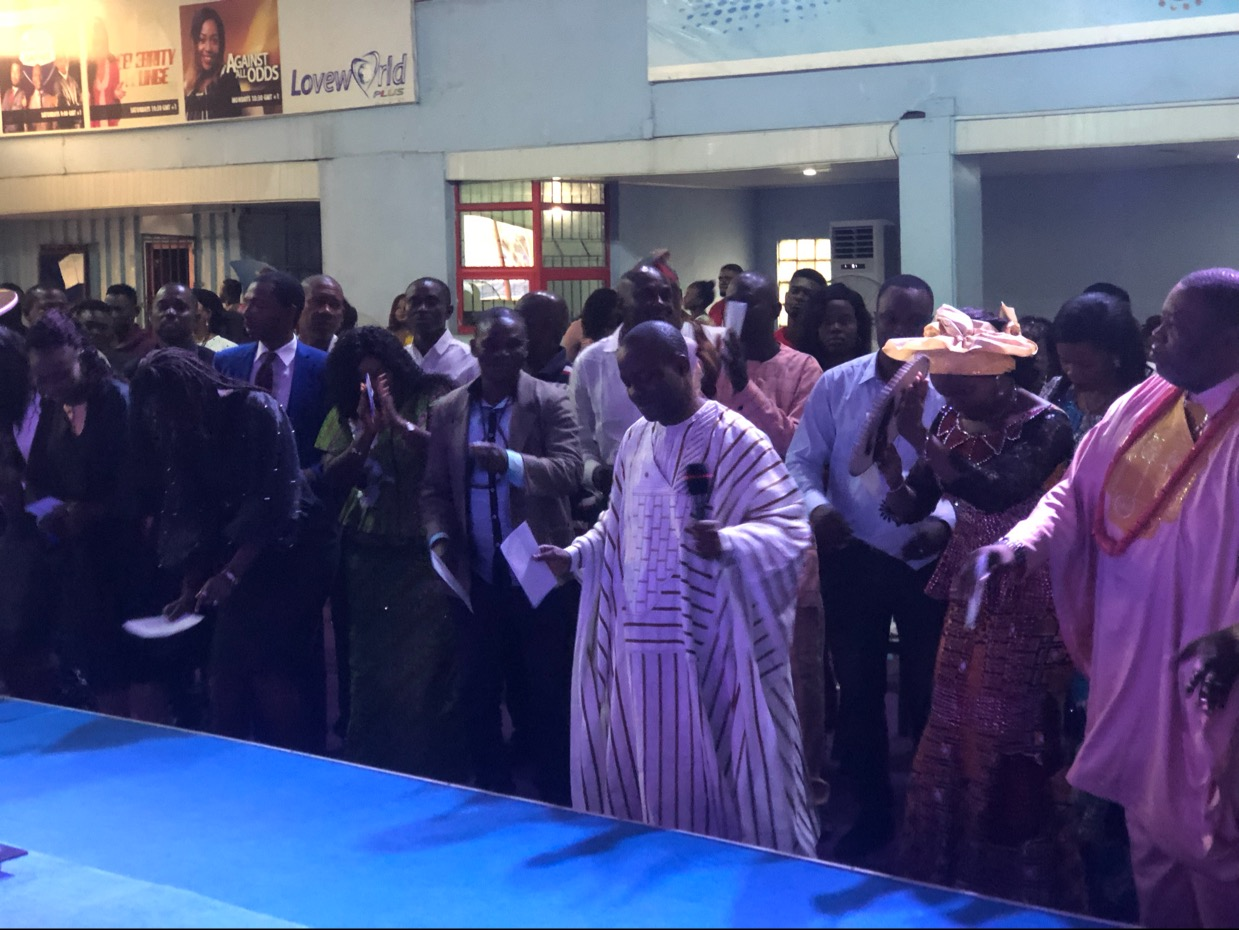 #Happening Now! MID-YEAR THANKSGIVING SERVICE!