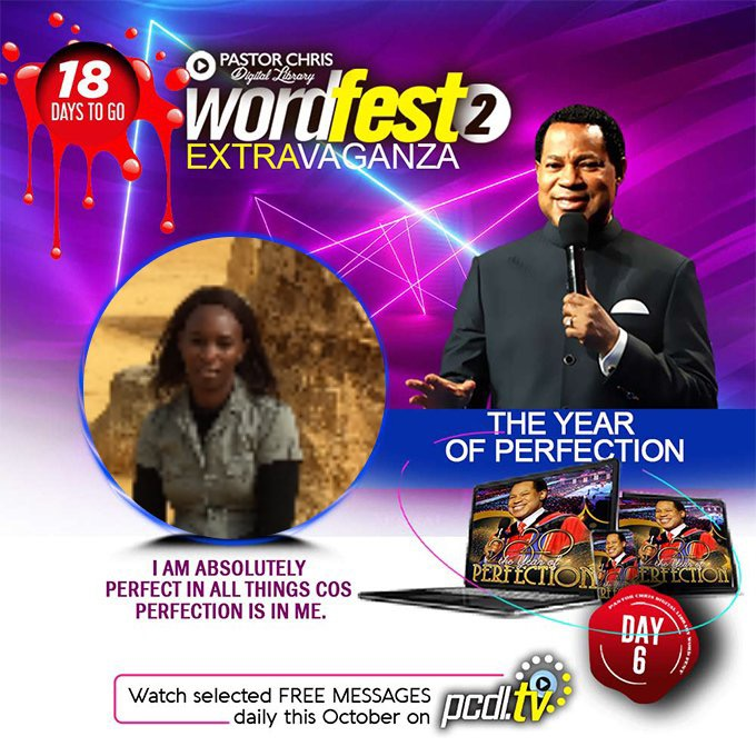 I walk in the word