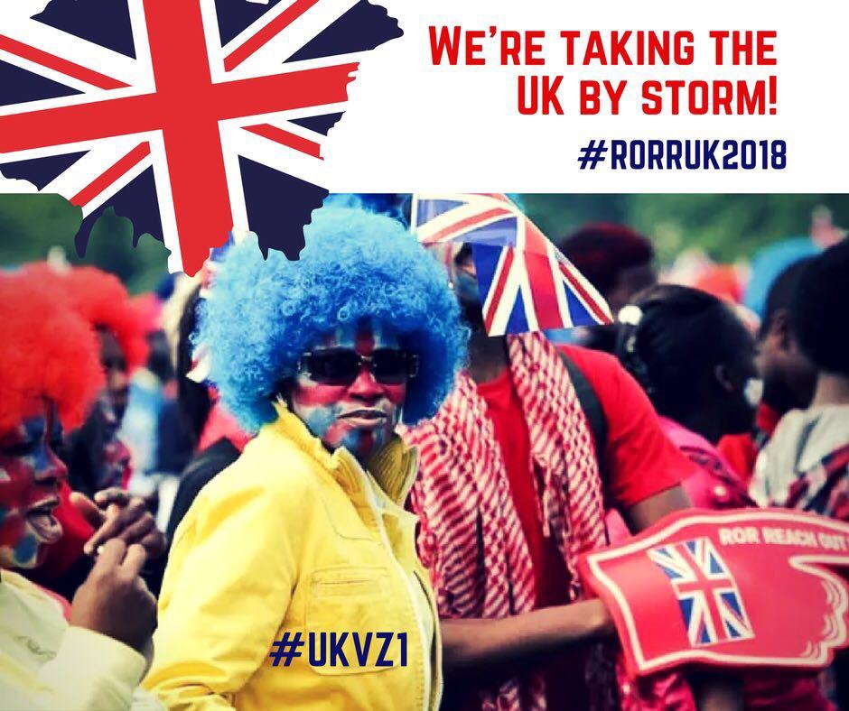 #RORRUK2018 #UKVZ1 #CEFORESTHILL The word
