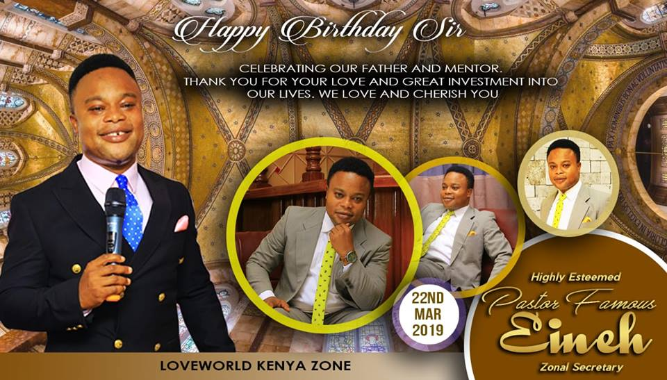 Happy birthday to my zonal