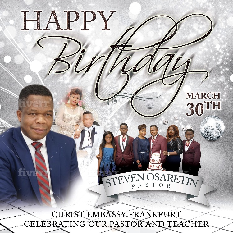Celebrating our Group Pastor and