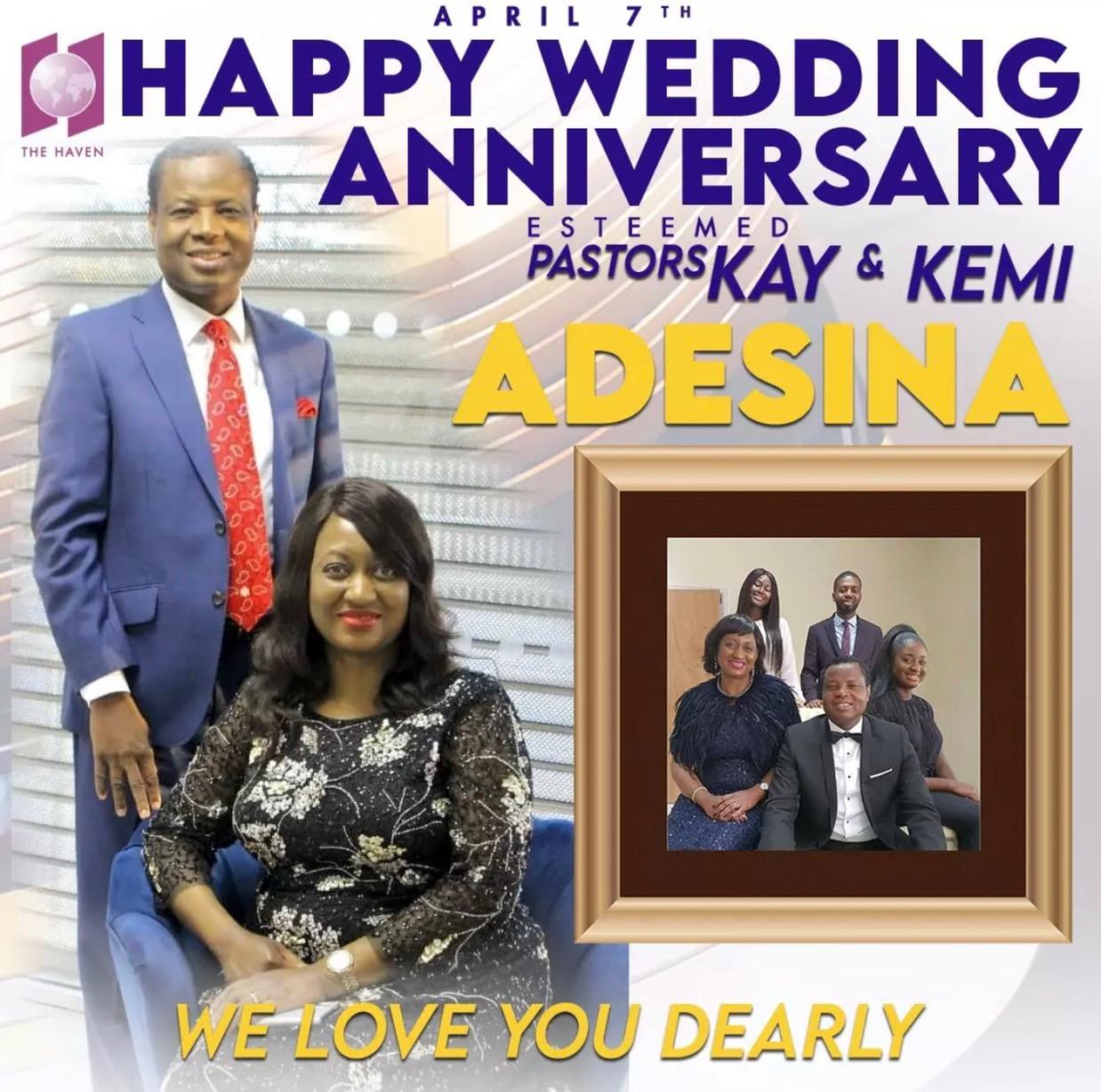 Happy Anniversary Mum & Dad,My