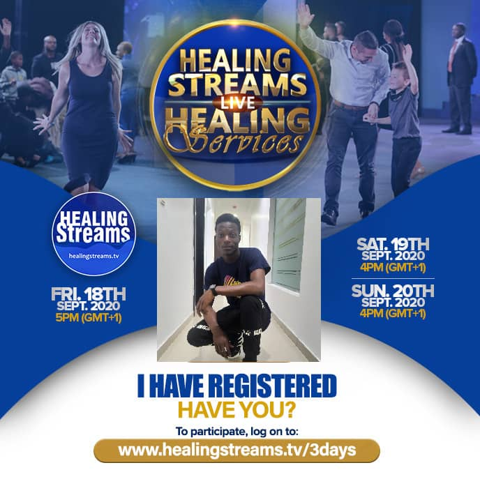 Register NOW! https://www.healingstreams.tv/reg/HS