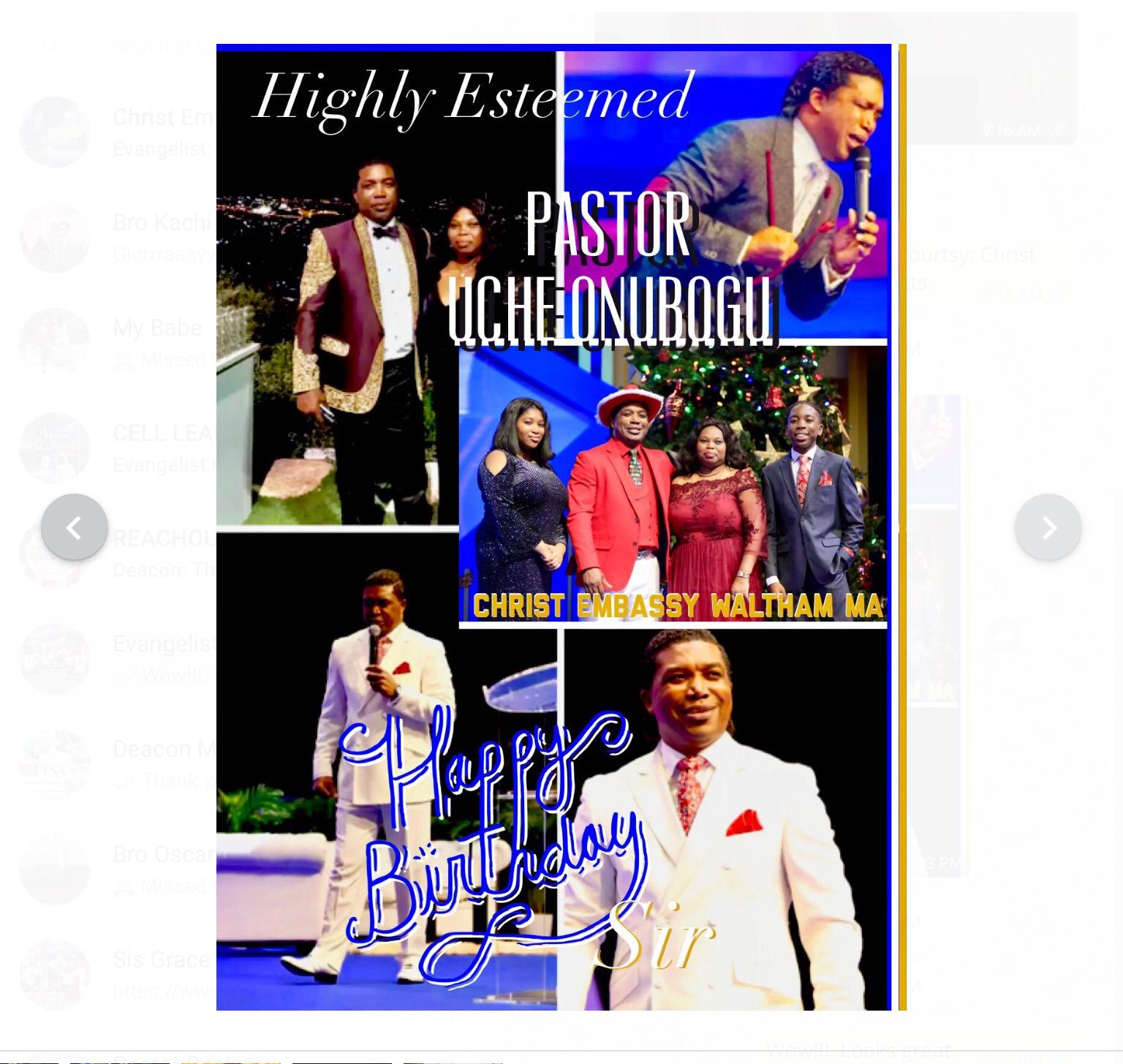 Celebrating our Hero, Coach, Pastor,
