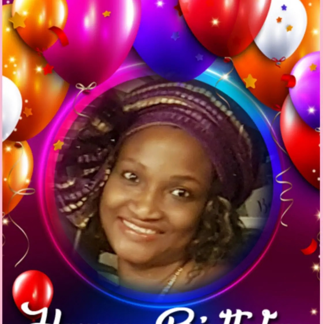 Happy birthday highly esteemed sis