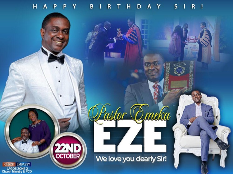 Happy birthday to you pastor