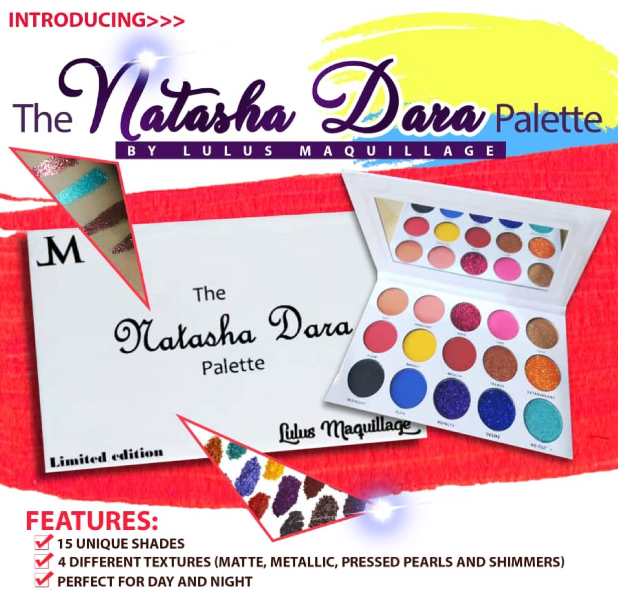 INTRODUCING➡️ THE NATASHA DARA PALETTE