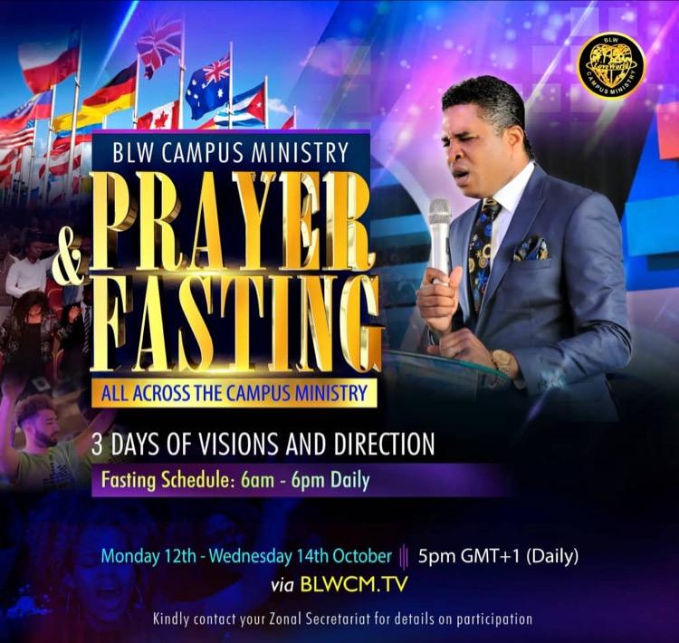 #prayingnow #blwcmprayer&fasting #blwzonec #blwcam