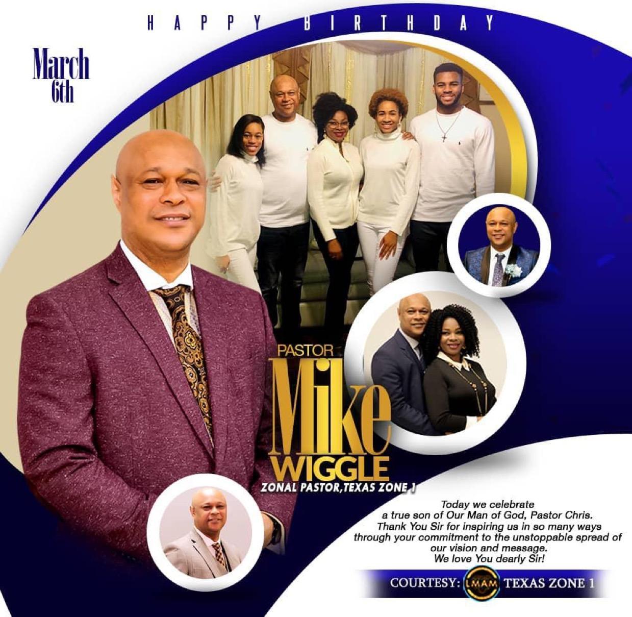 Happy Birthday pastor sir!! We