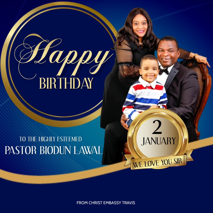 Happy Birthday Pastor Sir! Ever