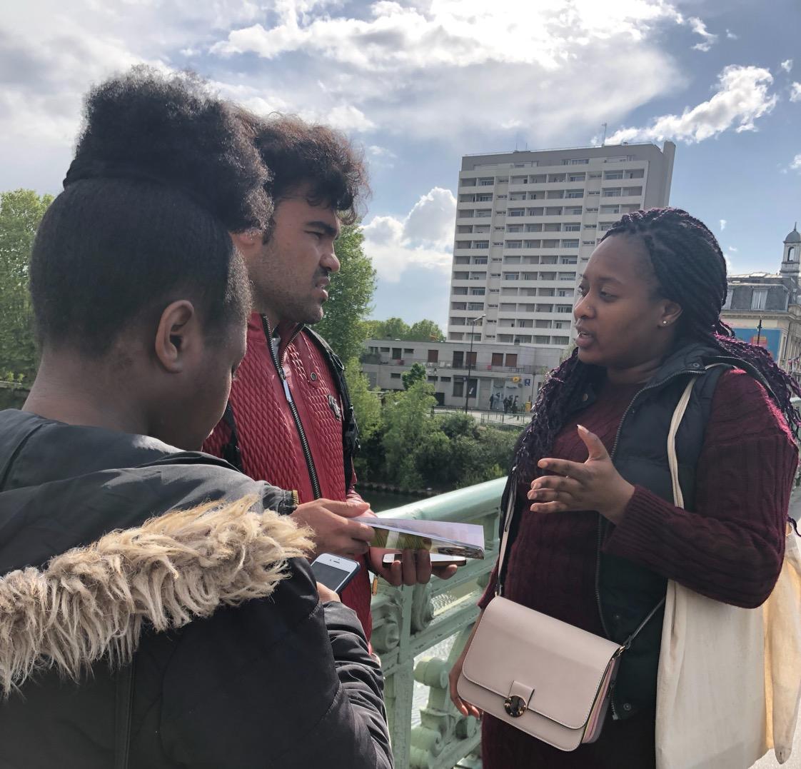 Preaching the Gospel in Paris