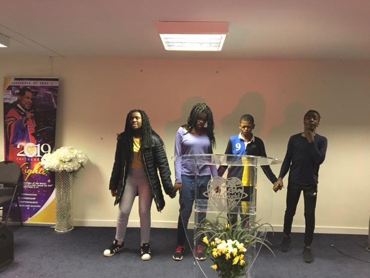 Teens Global Prayer Rally. When