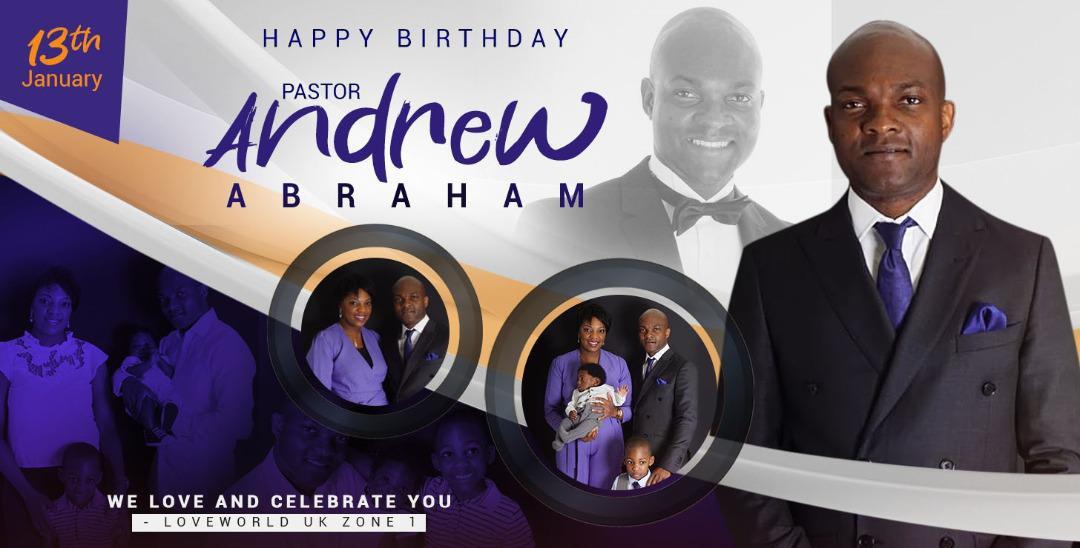 Happy Birthday Dear Pastor Andrew!