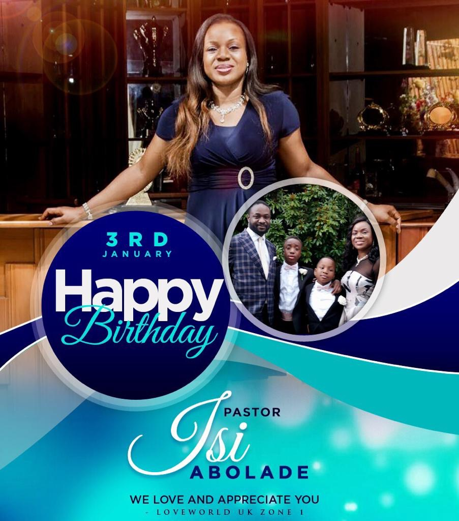 HBD PASTOR ISI ABOLADE! YOU'RE