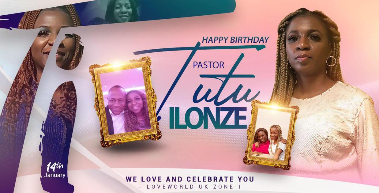 Happy Birthday Dearest Pastor Tutu!