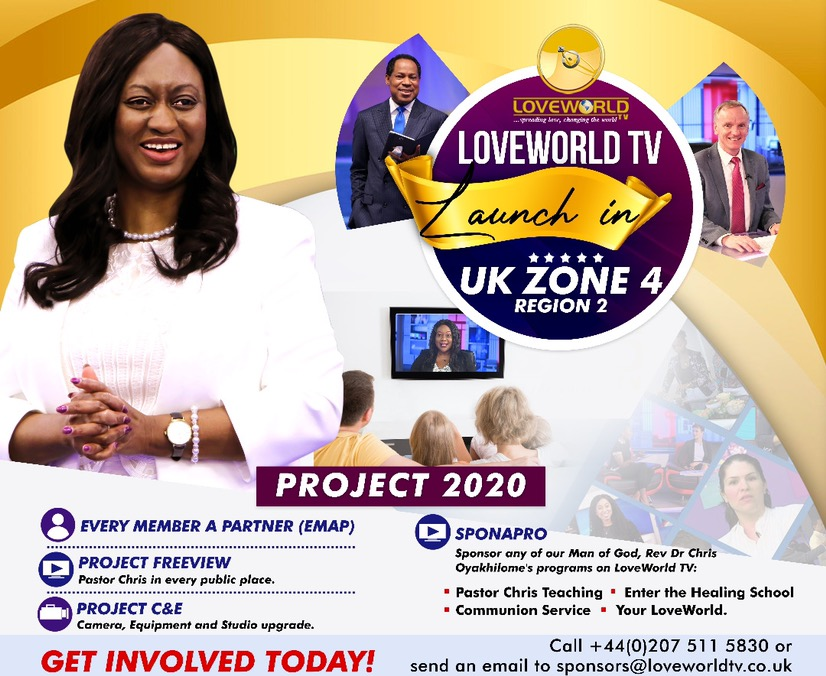 LoveWorld TV Partnership launch in