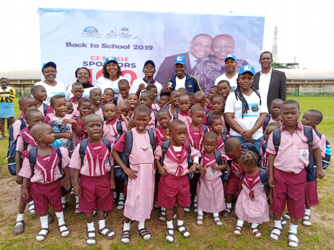CESAPELE SPONSORS 100 CHILDREN BACK