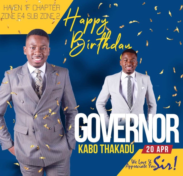 Happy birthday Gov Kabo sir