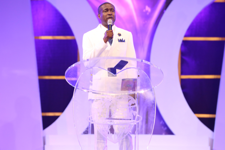 LIGHT shines on Benin ...Pastor