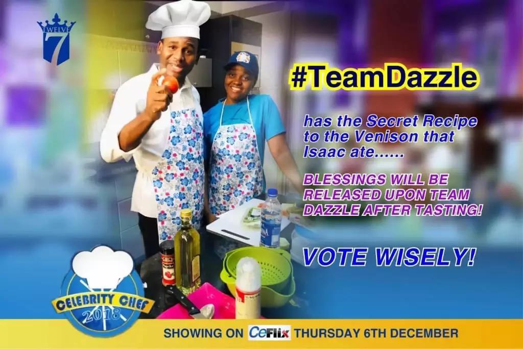 #TeamDazzle #CelebrityChef2018 #TeamDazzle Are yo