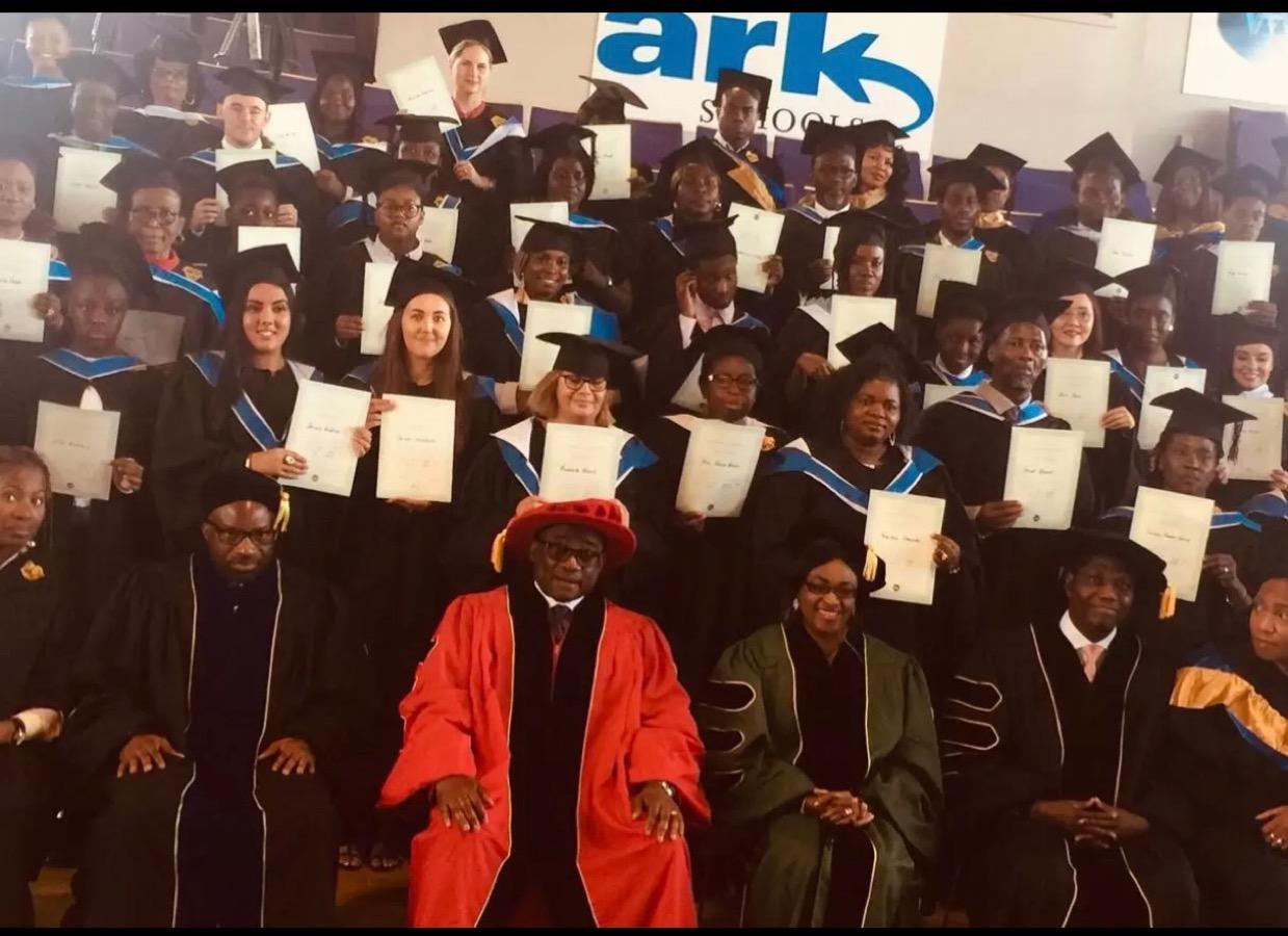 So grateful be a graduate