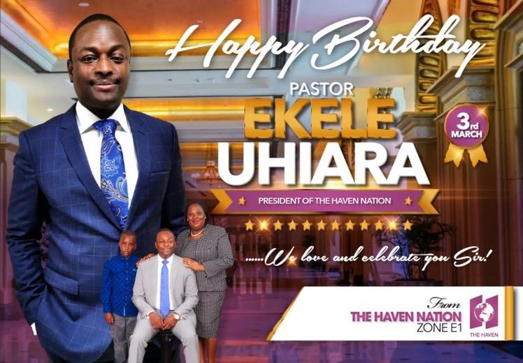 Happy Birthday Pastor Sir, I